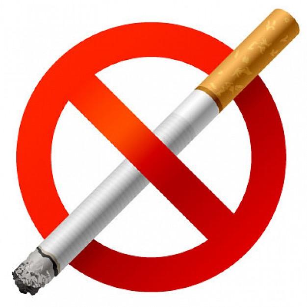 La lucha contra la mala costumbre el fumar
